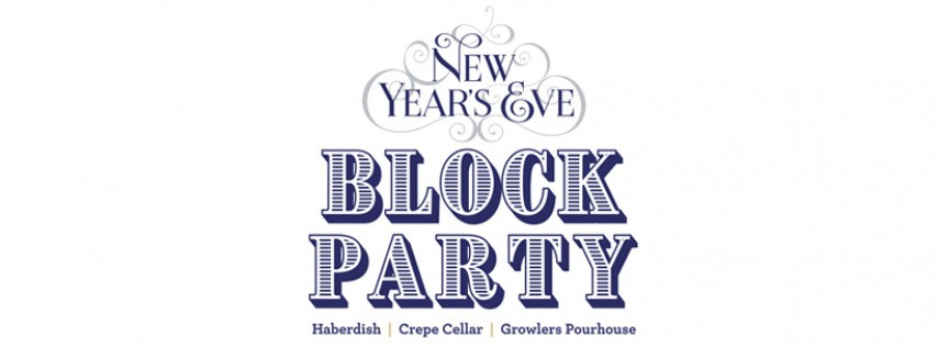 New Year's Eve Block Party!