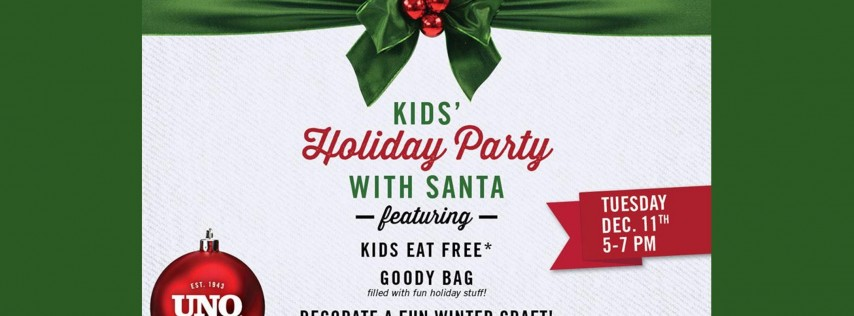 Kids Holiday Party with Santa