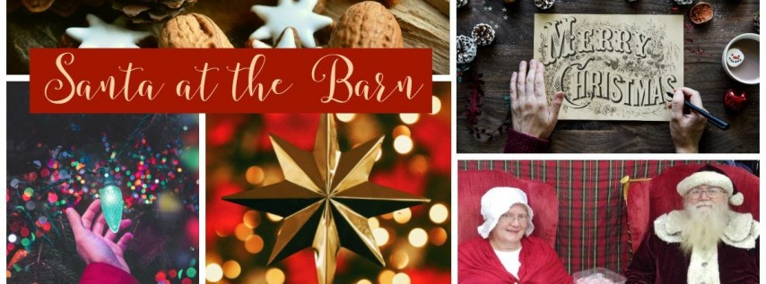 An Evening with Santa at the Barn