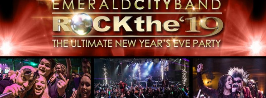 Emerald City Band's Rock The '19 Ultimate New Years Eve Part