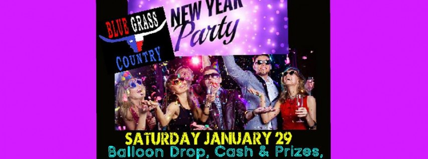 New Years Party, Cash, Prizes, & Champagne