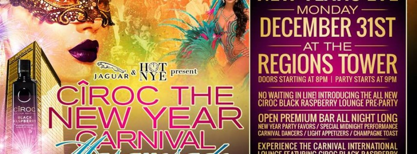 CÎROC The New Year Carnival Masquerade
