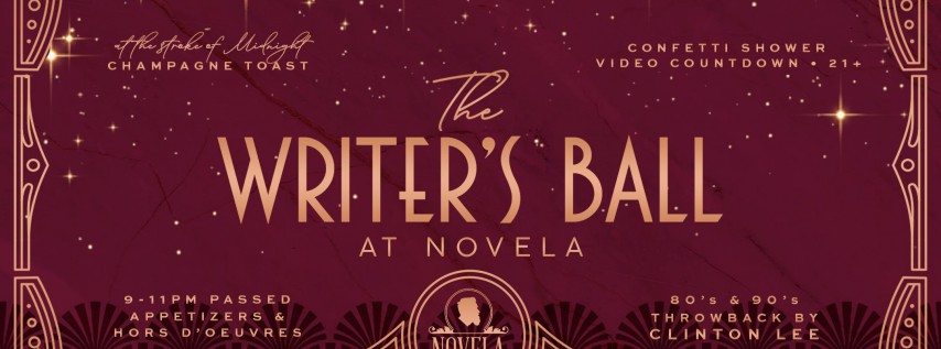 The Writers Ball NYE