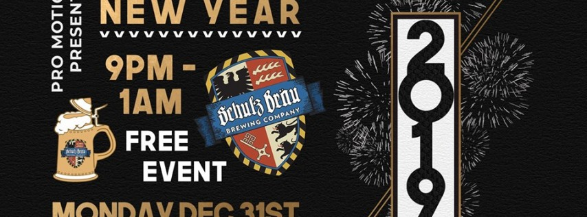 Schulz Brau New Years Eve Party & Pro Motion 1 Year Anniversary