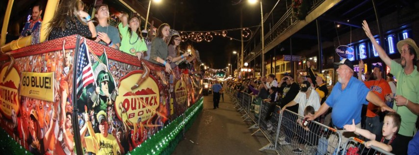 Outback Bowl New Year's Eve Parade and Pep Rally