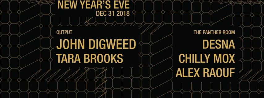 New Year's Eve | John Digweed at Output