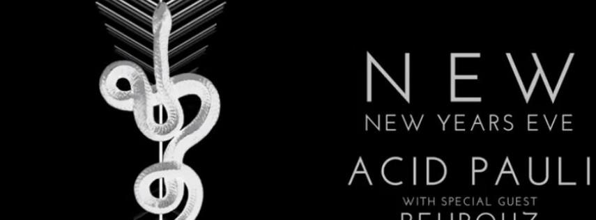 NEW NYE: Acid Pauli + Behrouz, Be Svendsen, Mira