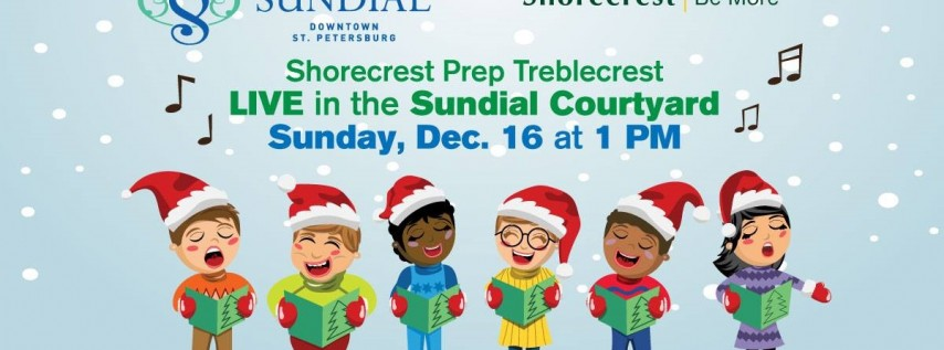 Shorecrest Prep Treblecrest Live in the Sundial Courtyard