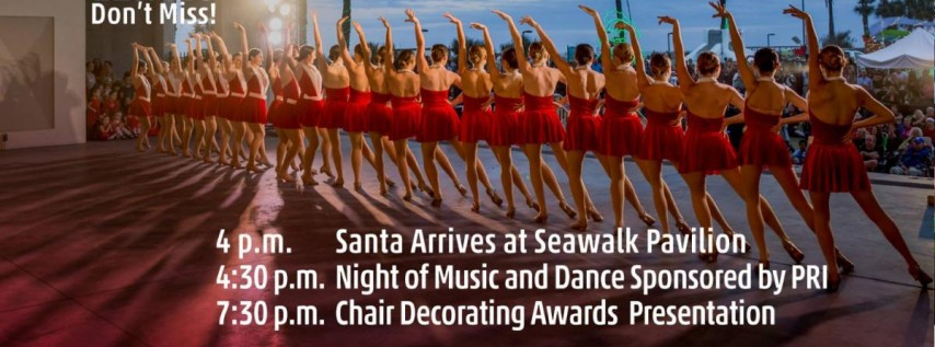 Jacksonville Beach Deck The Chairs 2018
