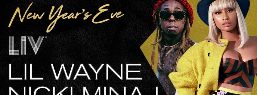 NYE Little Wayne and Niki Minaj at LIV