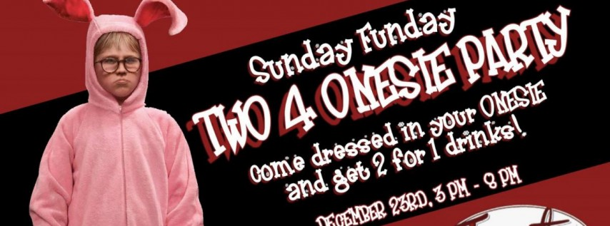 Two 4 Onesie Party at Frosty's