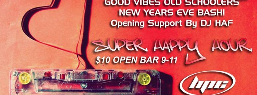 DJ Santana's Good Vibes New Years Eve Bash!