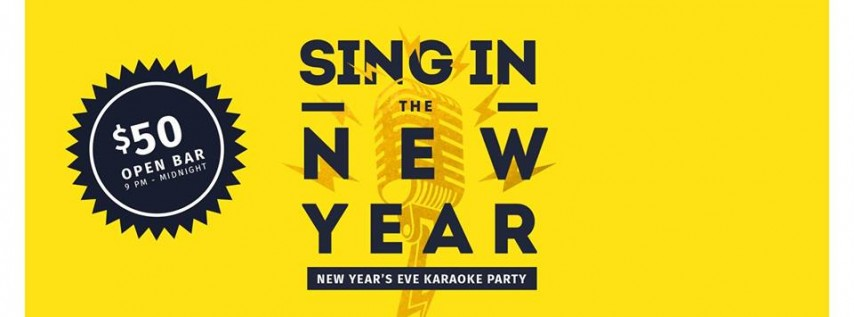 Sing in the New Year - NYE Karaoke Party