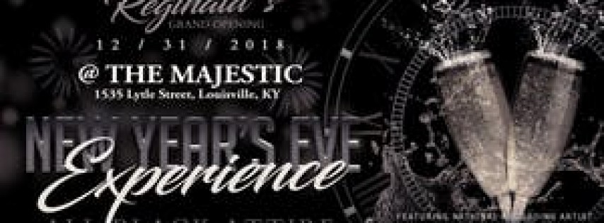 Reginald's Grand Opening New Year's Eve Experience 2018 Ft. 'Surface'