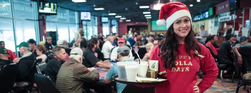 Annual Xmas Eve Promo at Silks Poker Room