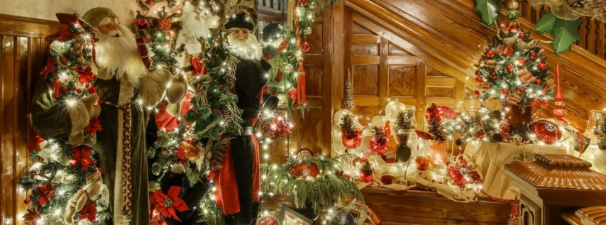 Stetson Mansion Christmas Spectacular Holiday Home Tour