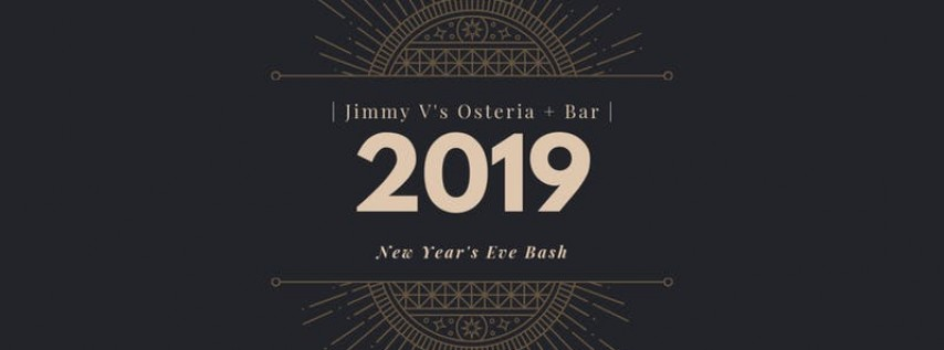 New Year's Eve Bash at Jimmy V's Osteria + Bar