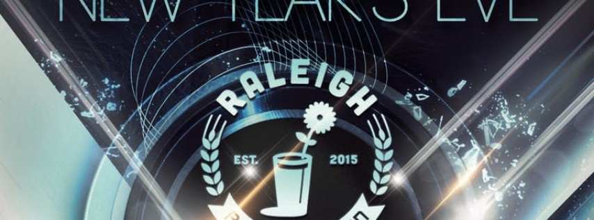 2019 New Year's Eve at the Raleigh Beer Garden