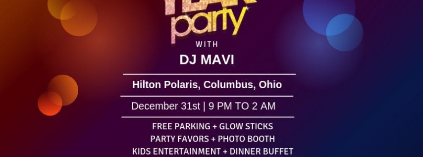 Bollywood New Year's Eve - Presented by B3 Event, Columbus ...