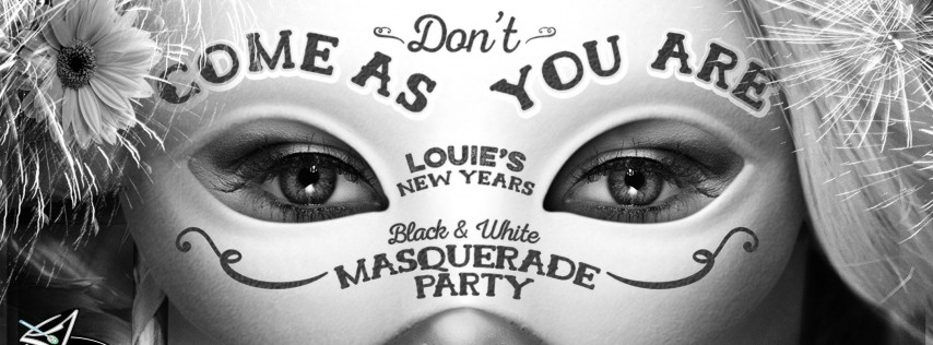 NYE 2018 Black & White Masquerade at Bar Louie Westgate