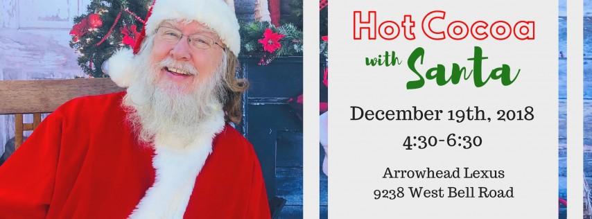 Hot Cocoa with Santa