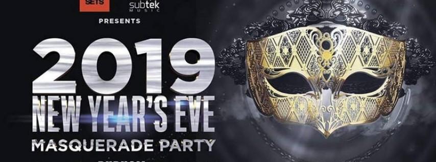 Techno Live Sets & Subtek Music's 2019 NYE Masquerade