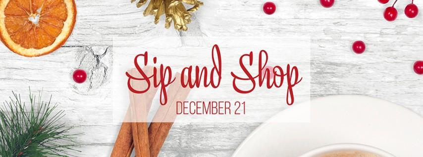 Sip and Shop @ TBFAD Holiday Shop!