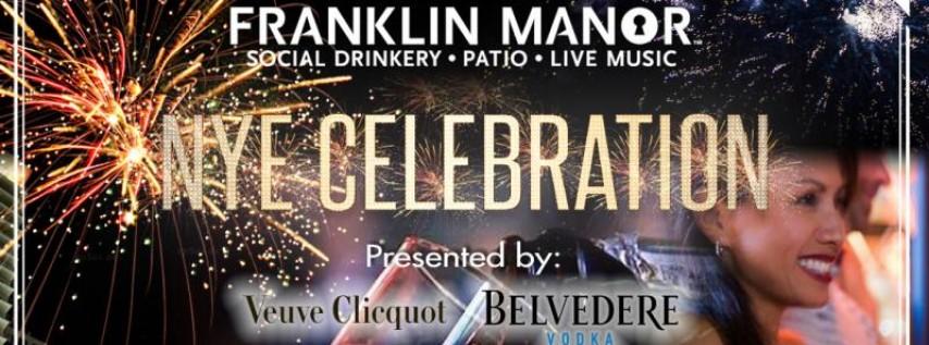 NYE Celebration at Franklin Manor