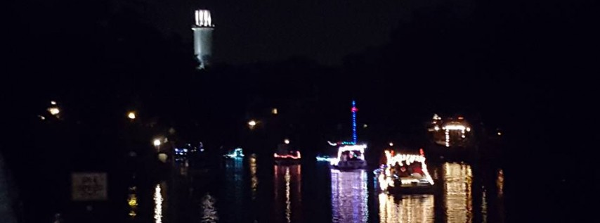 Annual Holiday Boat Parade on Hillsborough River 2018