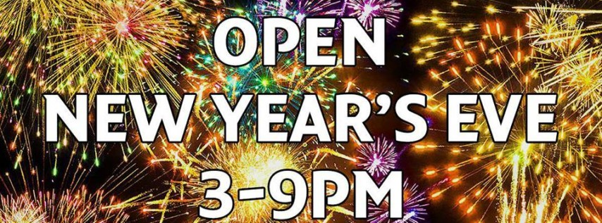New Year's Eve Hours, Asheville NC - Dec 31, 2018 - 3:00 PM