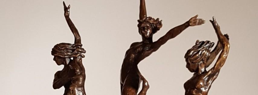 'Lyrical Figurative Bronzes' Exhibit by James Gabbert
