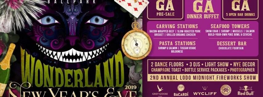 Viewhouse Ballpark Presents: Wonderland NYE 2019 Party