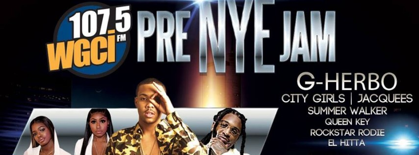107.5 WGCI Presents: Pre-New Year's Eve Jam