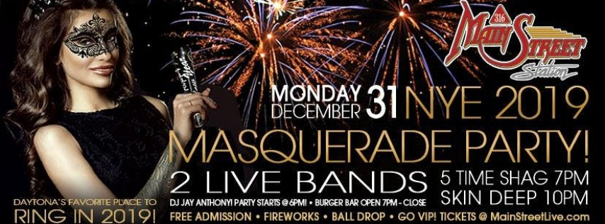 New Years Eve with SKIN DEEP (VIP Experience)