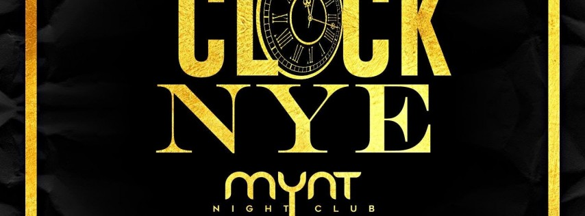 Beat The Clock NYE Celebration - FREE Entry-FREE Henny-FREE Wings til 11w/RSVP - New Year's Eve Party!!