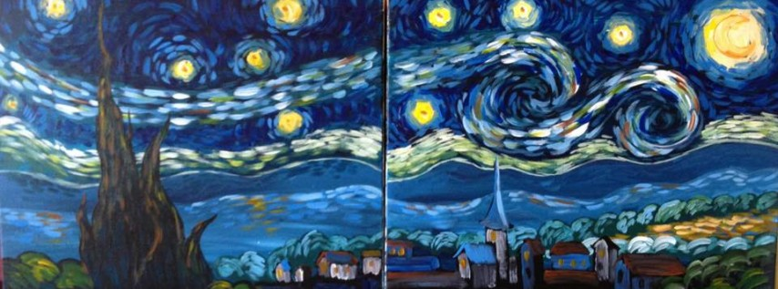 New Years Eve! Van Gogh's Starry Date Night