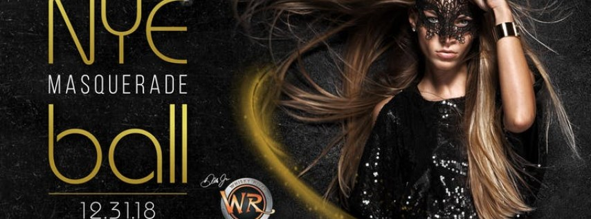 New Years Eve 2019: Masquerade Ball at Whisky River in the Epicentre