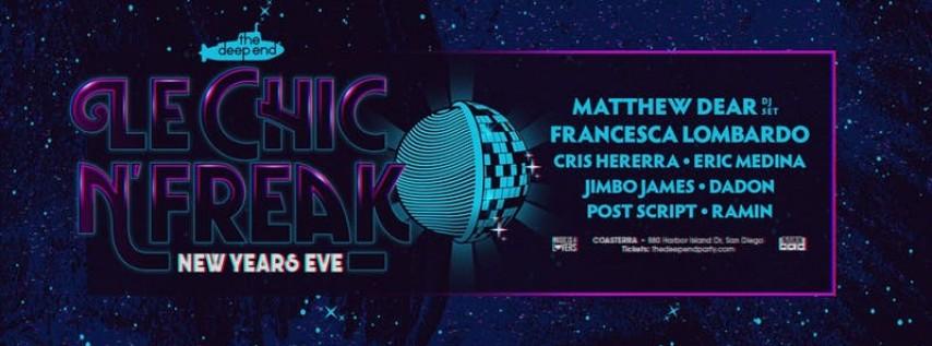 Le Chic N Freak NYE 2018: Matthew Dear & Francesca Lombardo