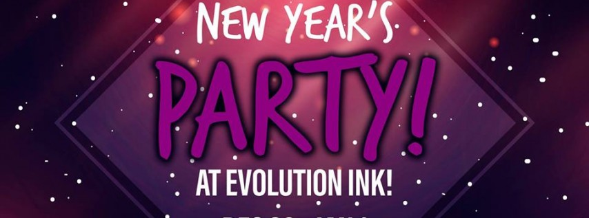 New Year's Party at Evolution Ink