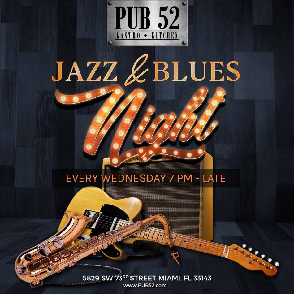 Jazz & Blues Wednesday Nights