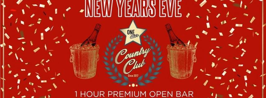 NYE: One Star Country Club