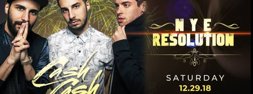 Cash Cash NYE Resolution at Stereo Live Houston