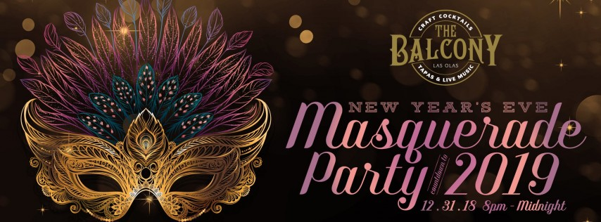 The Balcony New Year's Eve Masquerade Party