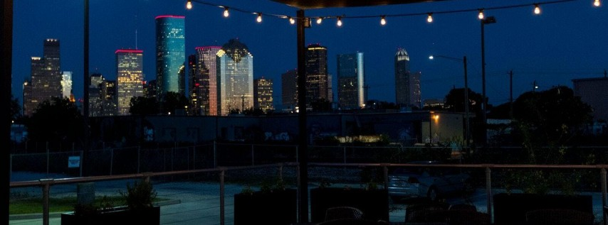 Houston New Year's Eve under the Houston Skyline at Poitín!