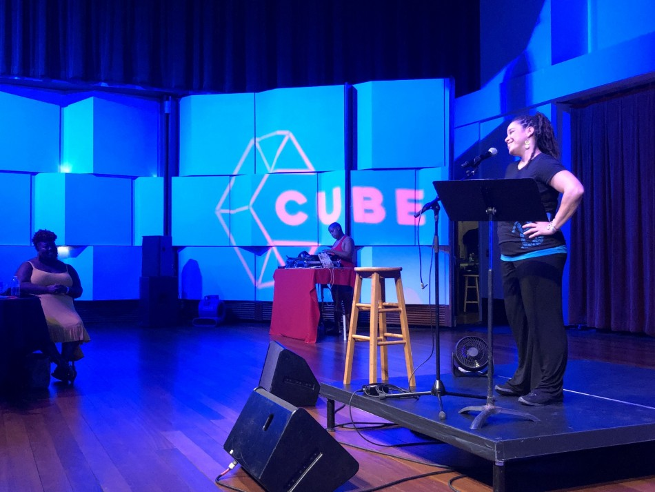 CUBE Poetry Slam – UNPLUGGED