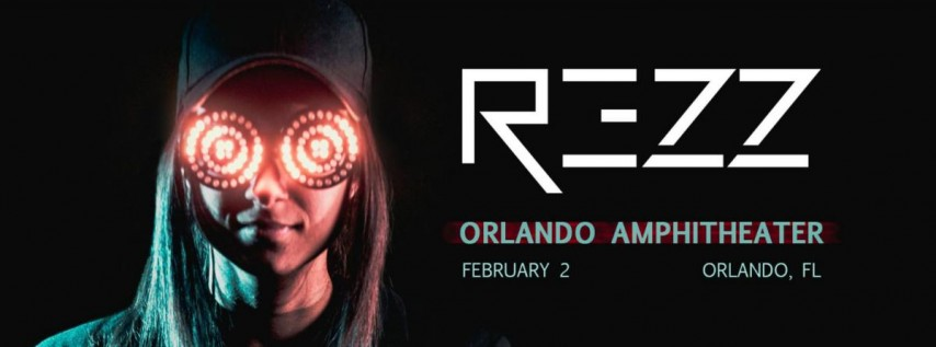 REZZ at Orlando Amphitheater