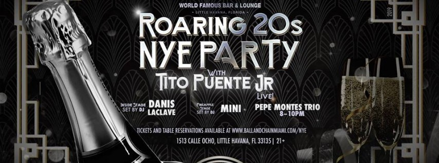 Roaring 20s NYE Party at Ball & Chain
