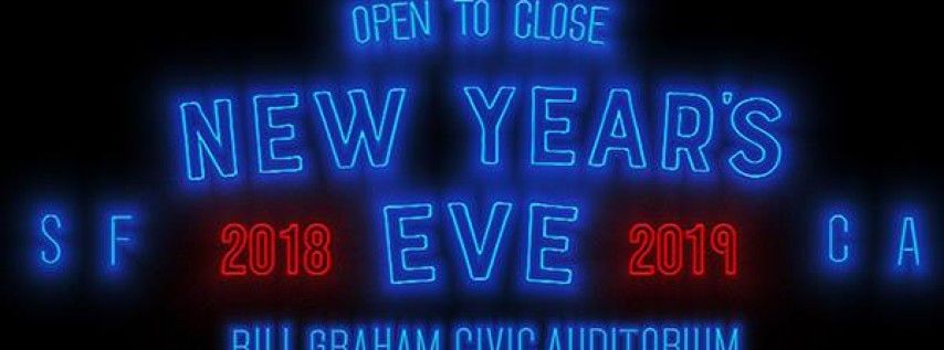 Kaskade NYE at Bill Graham Civic Auditorium