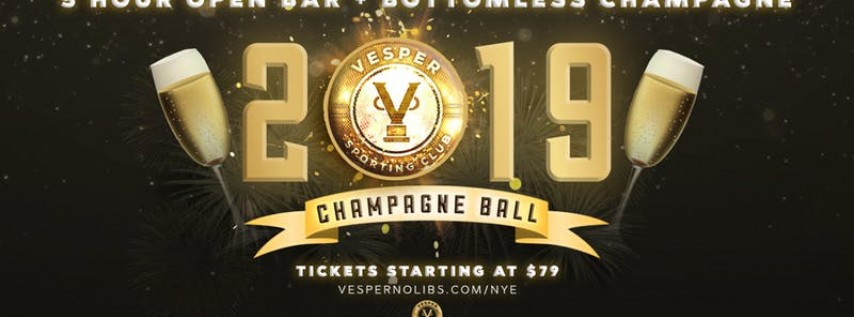 Champagne Ball New Years Eve | Vesper Sporting Club - Northern Liberties