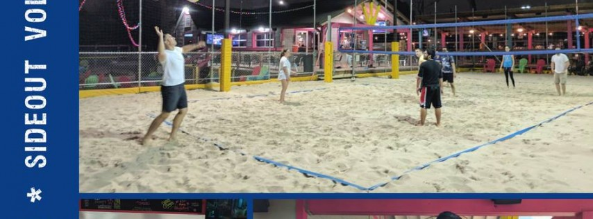 HTXO Happy Hour plus Volleyball!